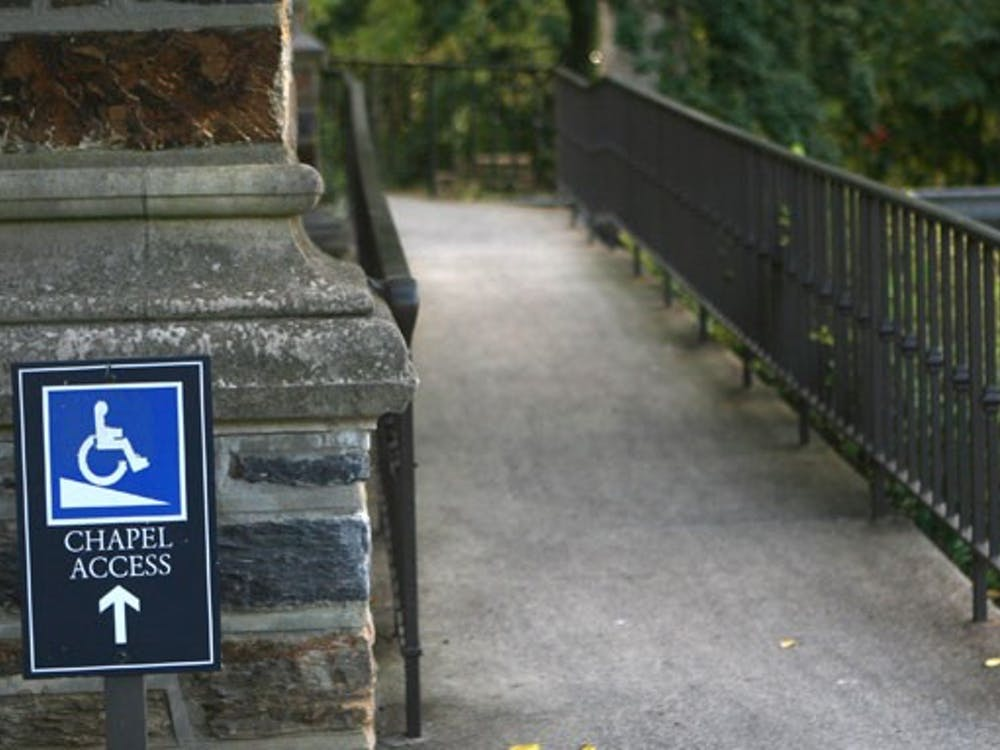 Although the University has made efforts to make campus buildings accessible, there are still areas on campus that are not handicap accessible.