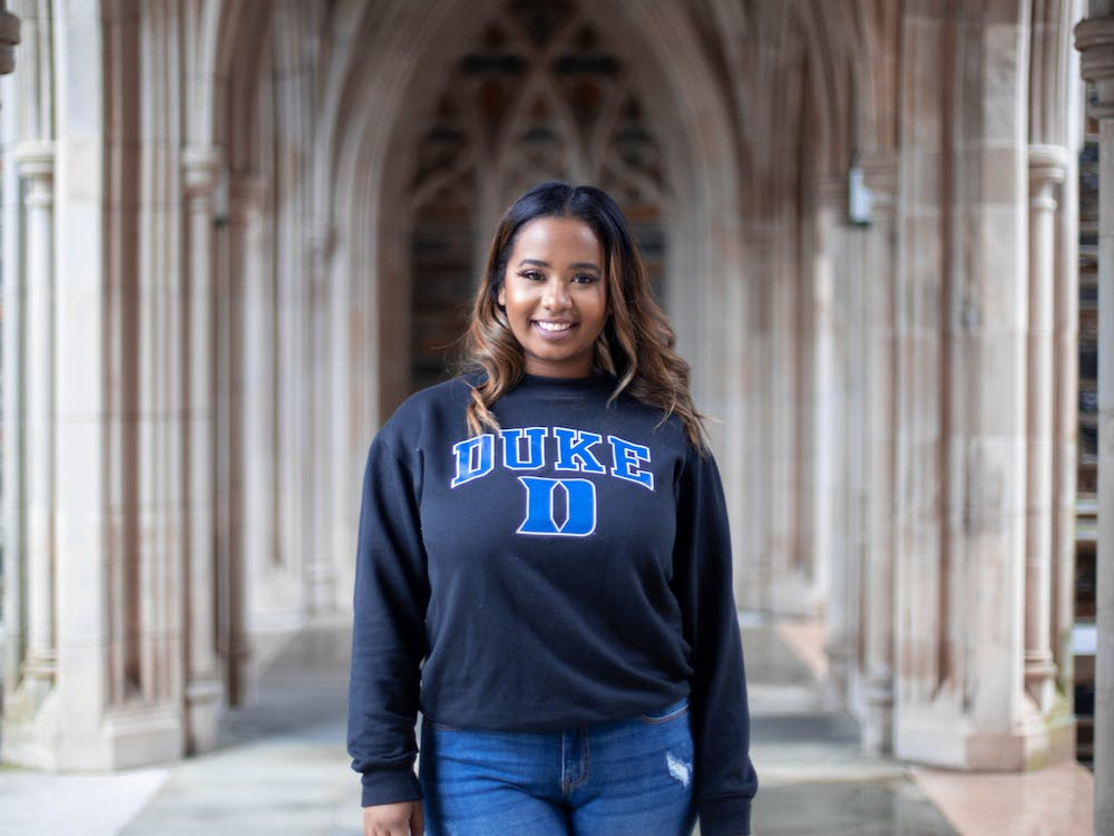 <p>Andie Marie Adkins, Trinity '20, was a member of the first graduating class of Rubenstein Scholars.&nbsp;</p>