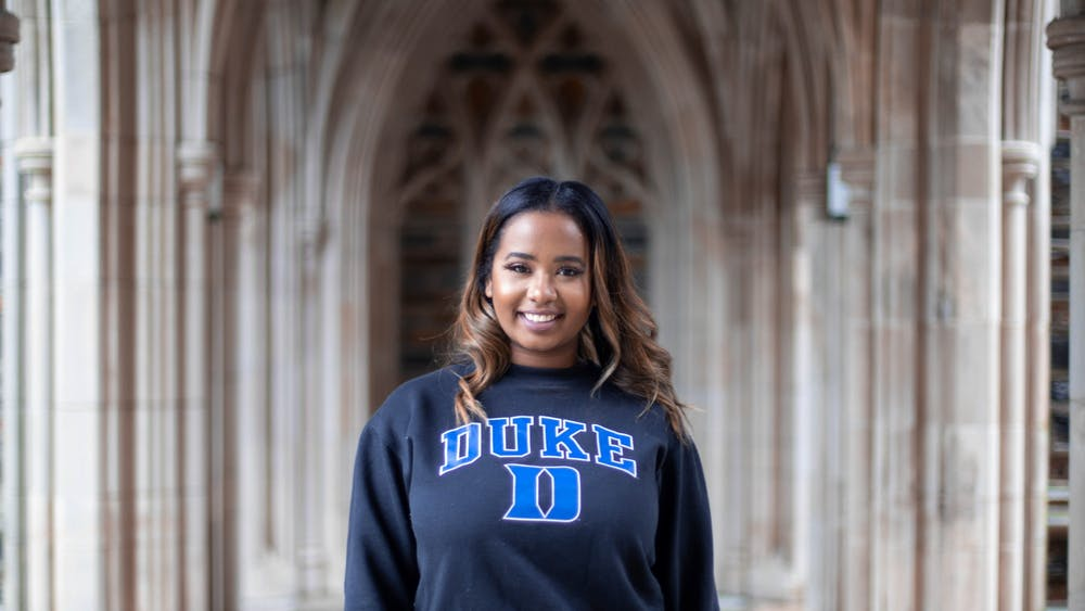 Andie Marie Adkins, Trinity '20, was a member of the first graduating class of Rubenstein Scholars.