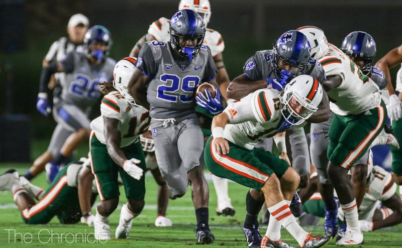 Shaun Wilson has stepped up for the Blue Devils this year, but the rest of the offense has lagged behind in recent weeks.