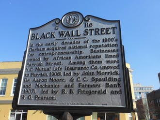 Preservation Durham's civil rights walking tour places the city within a national context by showcasing monuments and buildings.