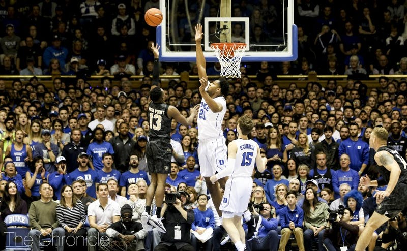 Marques Bolden is Duke's best rim protector, and his defense could turn things around for the Blue Devils.