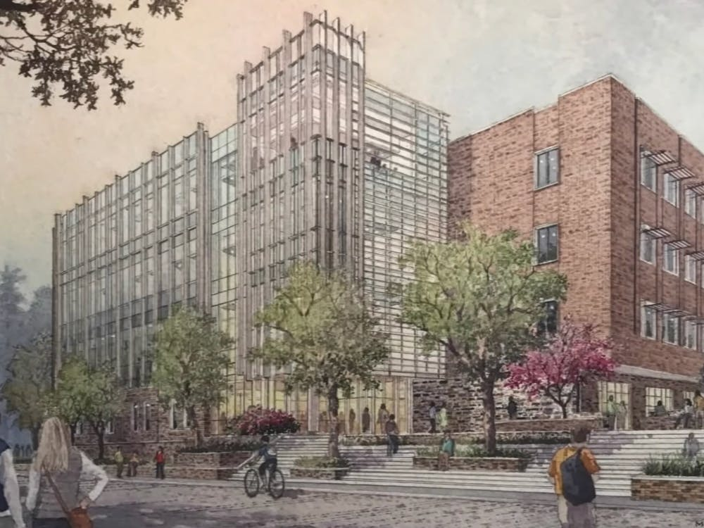 An artist's rendering of the Wilkinson Building.