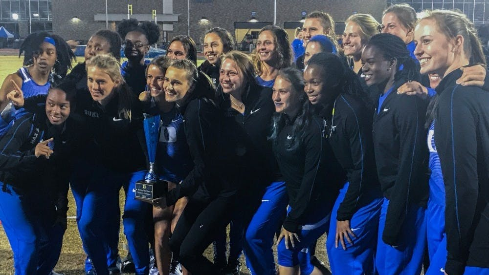 Duke women's track and field team placed eighth in the ACC outdoor championships.