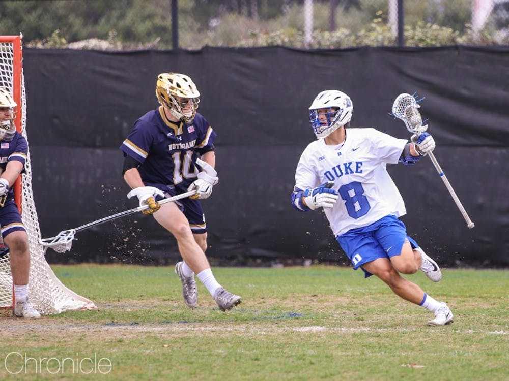 Joe Robertson led Duke with three goals.