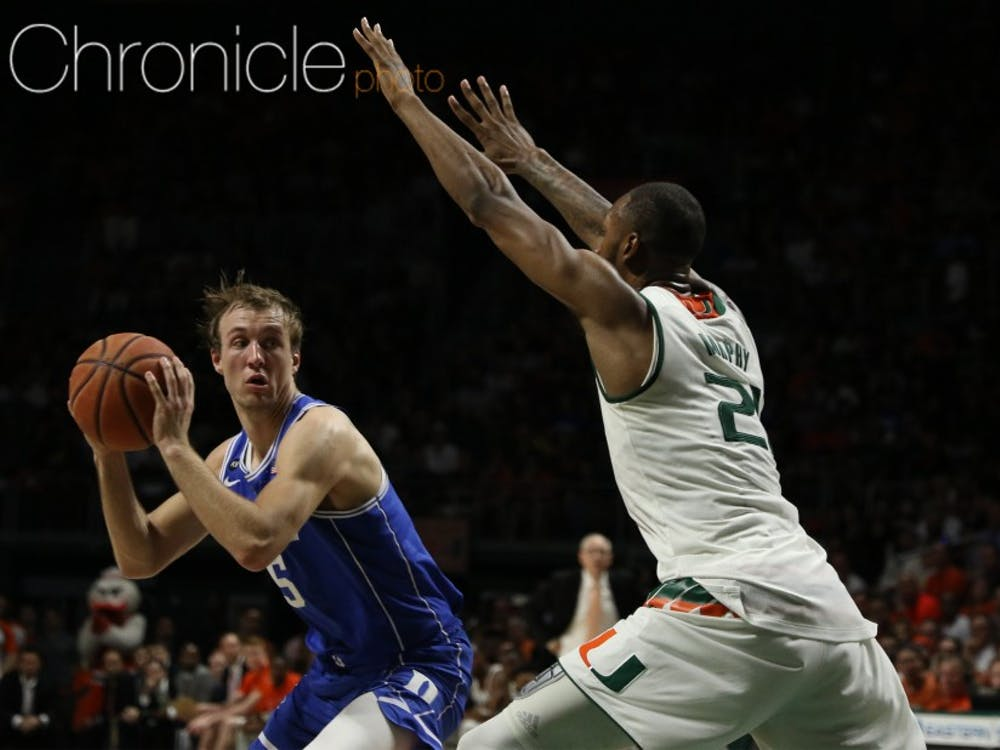 Luke Kennard earned second-team All-American honors after a breakthrough season as the second-leading scorer in the ACC.