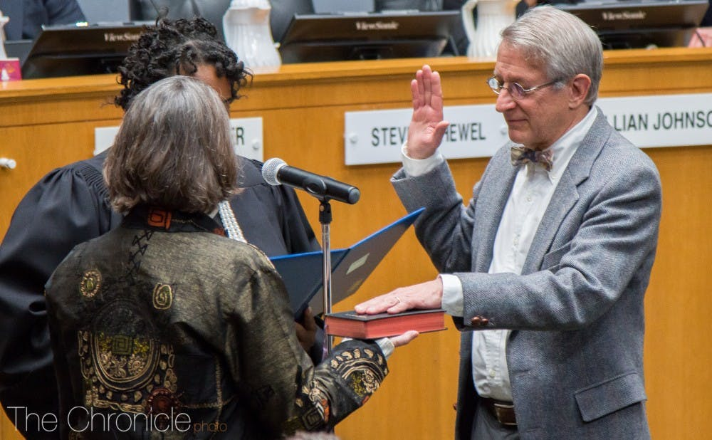 Schewel Officially Sworn In As Durham Mayor Along With New Wave Of