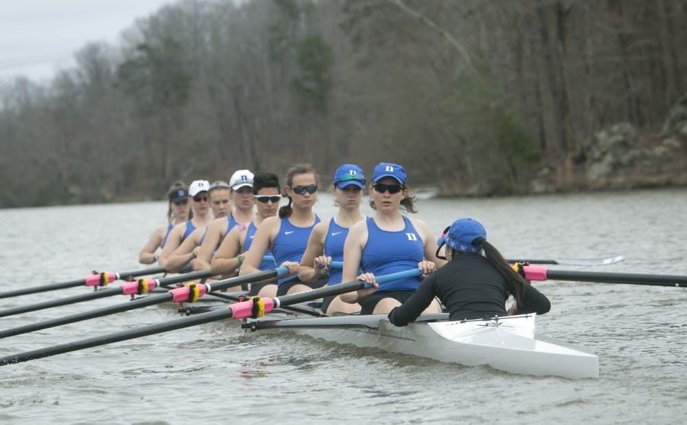 <p>The Blue Devil V8 boats struggled against top competition, but Duke's 2V4 turned heads once again.&nbsp;</p>