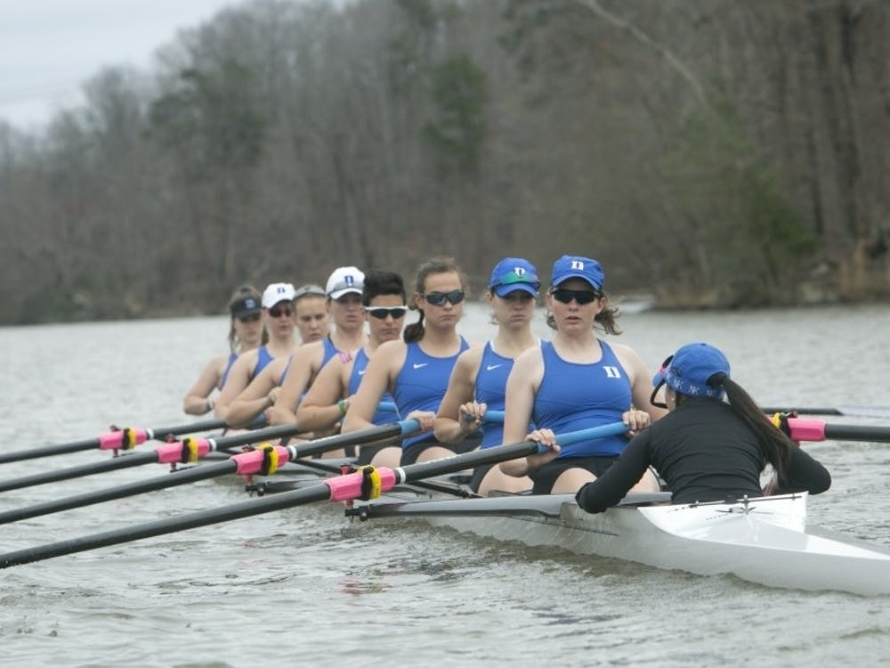 The Blue Devil V8 boats struggled against top competition, but Duke's 2V4 turned heads once again.