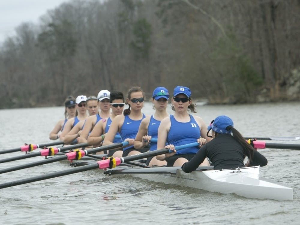 The Blue Devil V8 boats struggled against top competition, but Duke's 2V4 turned heads once again.