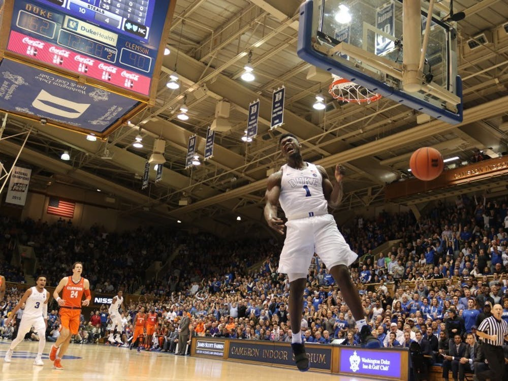 Nobody felt up for contesting Zion Williamson's slams in the NBA preseason.