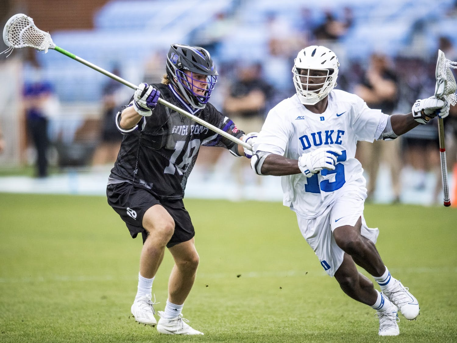 The Blue Devils, while not error-free, are now moving on to the quarterfinals of the NCAA Tournament.