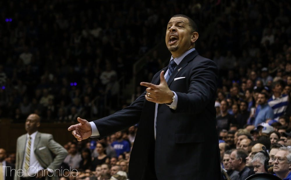 <p>After serving as Coach K's top assistant, Jeff Capel headed to the Steel City to become Pittsburgh's head coach.</p>