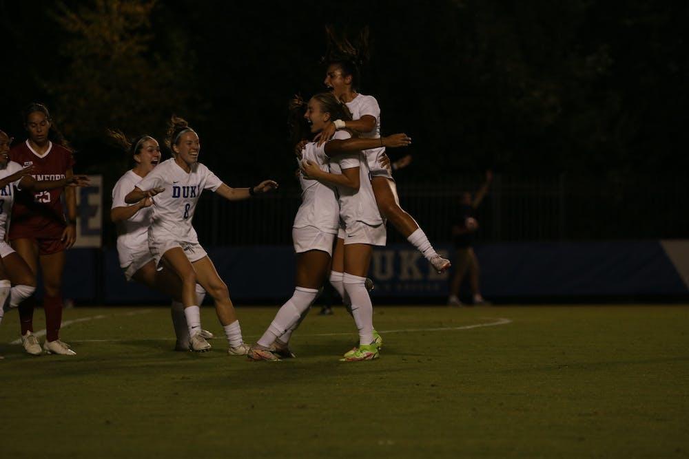 Duke women's soccer beat Stanford in a huge top-10 matchup last Thursday.