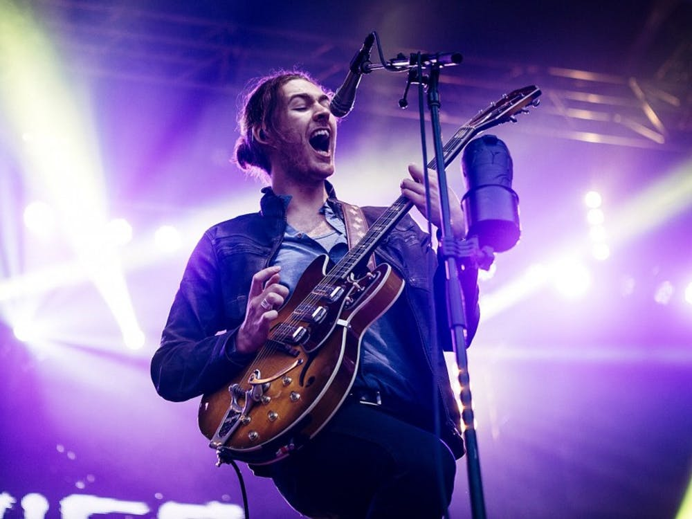 "Hozier, pictured here in 2015, released his second album, ""Wasteland, Baby!"" March 1."