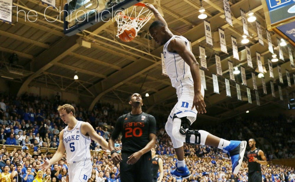 <p>Harry Giles has reportedly looked more explosive in workouts this spring than he was at Duke as he came back from his second ACL tear.</p>