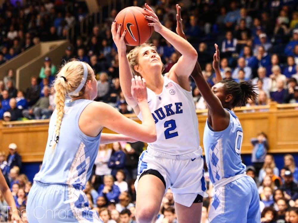 Haley Gorecki has put the Blue Devils on her back this season.