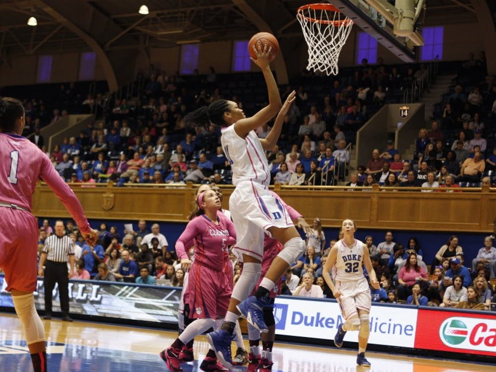 Freshman forward Azura Stevens continued showing why she could be the next great post player in Durham this week.