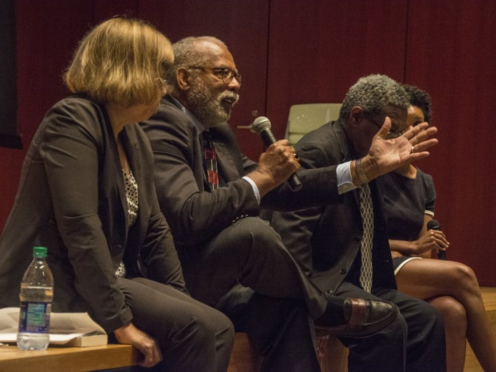 The panel focused on issues of racial injustice in the legal system.