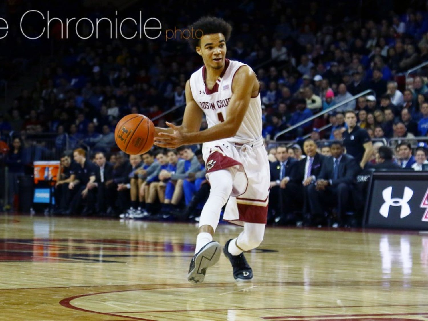 Boston College star Jerome Robinson is one of the team's few consistent scoring options.