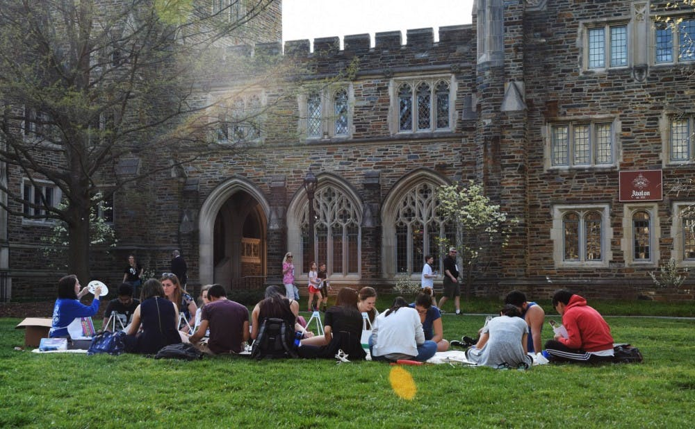 Although there are many artists on campus, some students feel that the arts community at Duke is underappreciated and lacks visibility on campus.