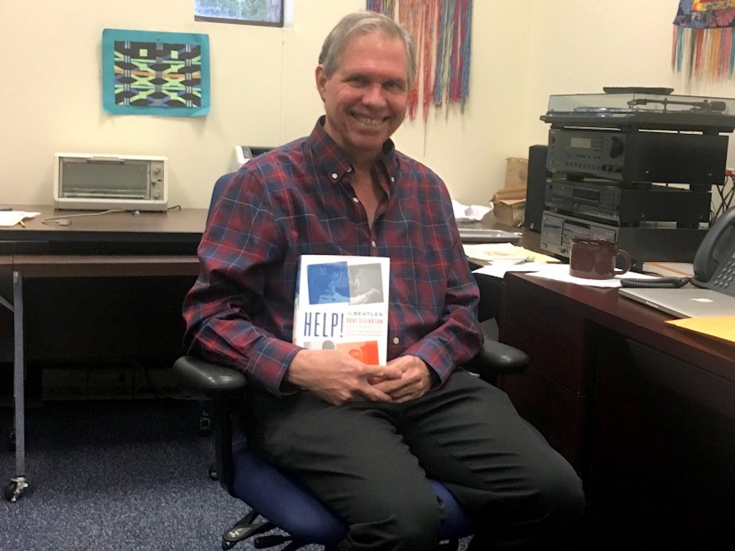 """Duke professor Thomas Brothers recently released his book """"Help! The Beatles, Duke Ellington and the Magic of Collaboration."""""""