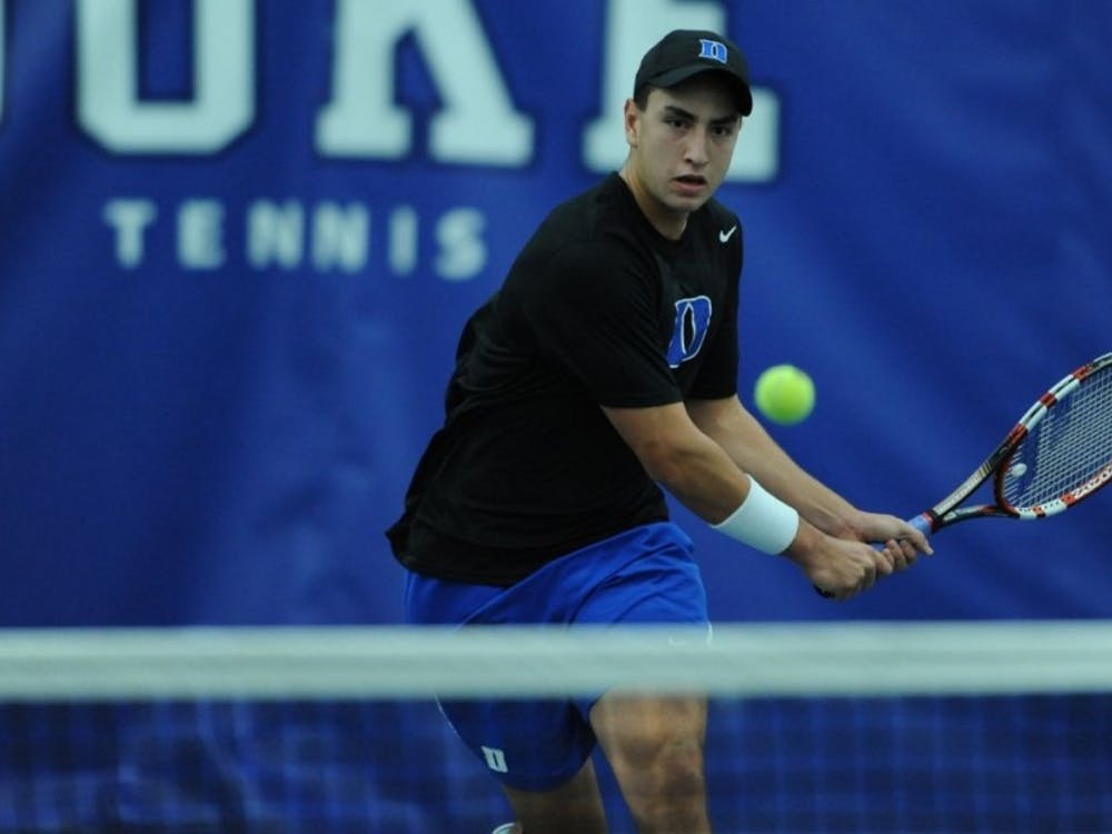 Sophomore Nicolas Alvarez—ranked as the17th-best singles player in the country—fell into an early hole and dropped another straight-set contest in Saturday's loss at Vanderbilt.