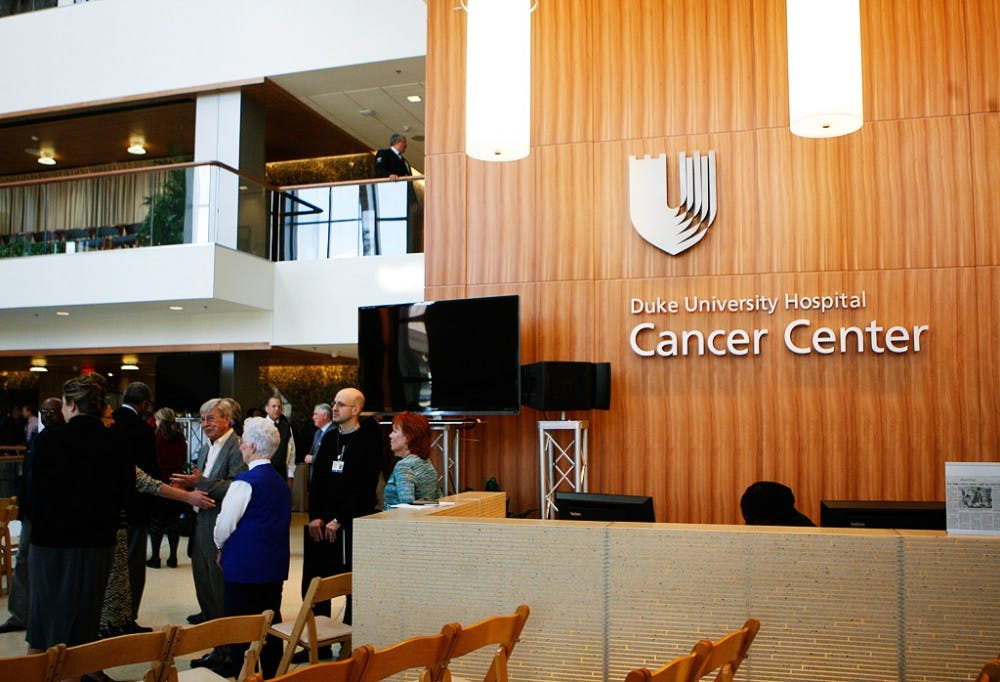 The Duke  Cancer Center hosted open houses Tuesday and Wednesday to celebrate its grand opening.