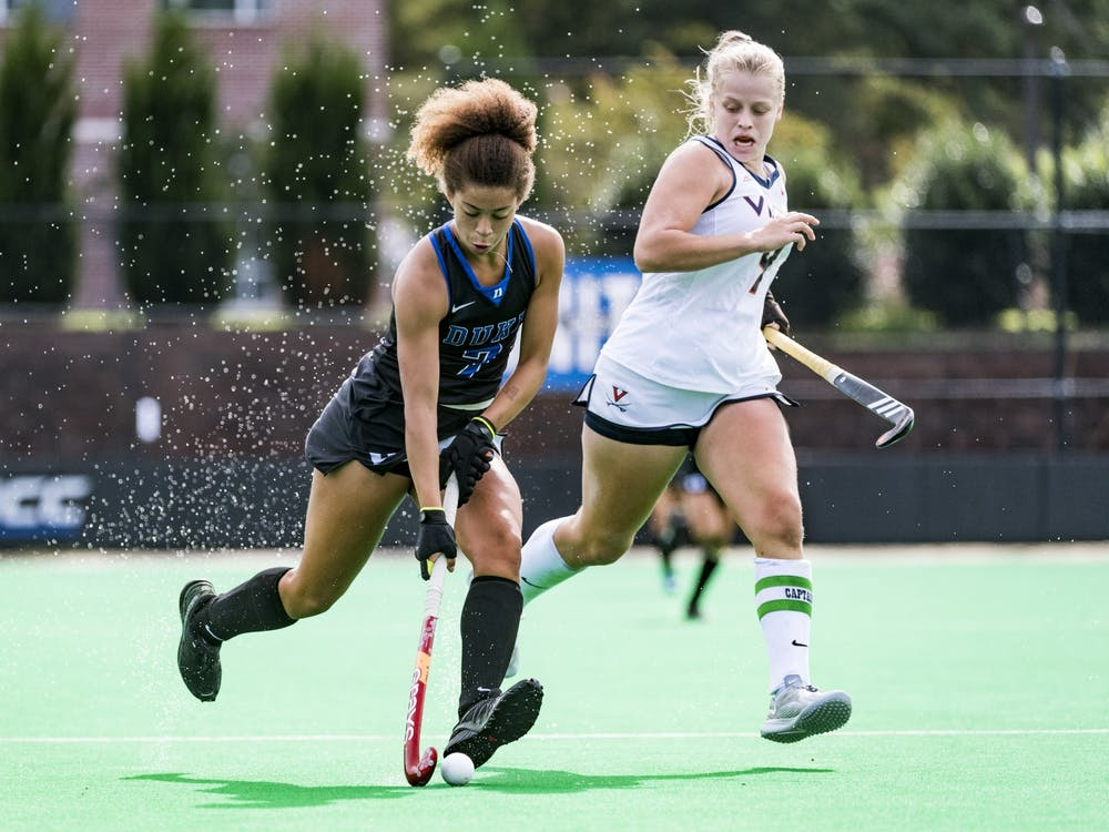 Freshman Darcy Bourne has emerged as a star on offense, notching a goal in each of the Blue Devils' final three games of the season.