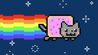 Photos and files like the iconic internet meme Nyan Cat are selling for millions, but where is that value coming from?
