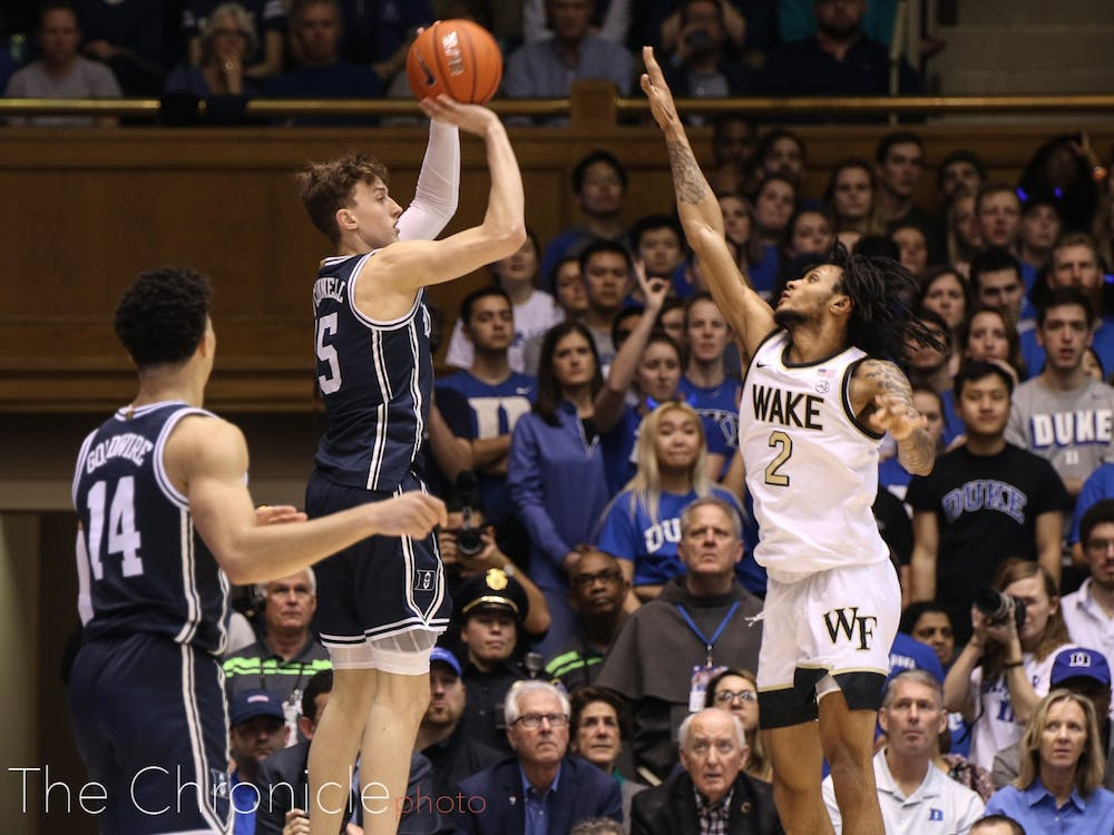 <p>The Blue Devils will look to match their offensive dominance against Wake Forest Tuesday.</p>