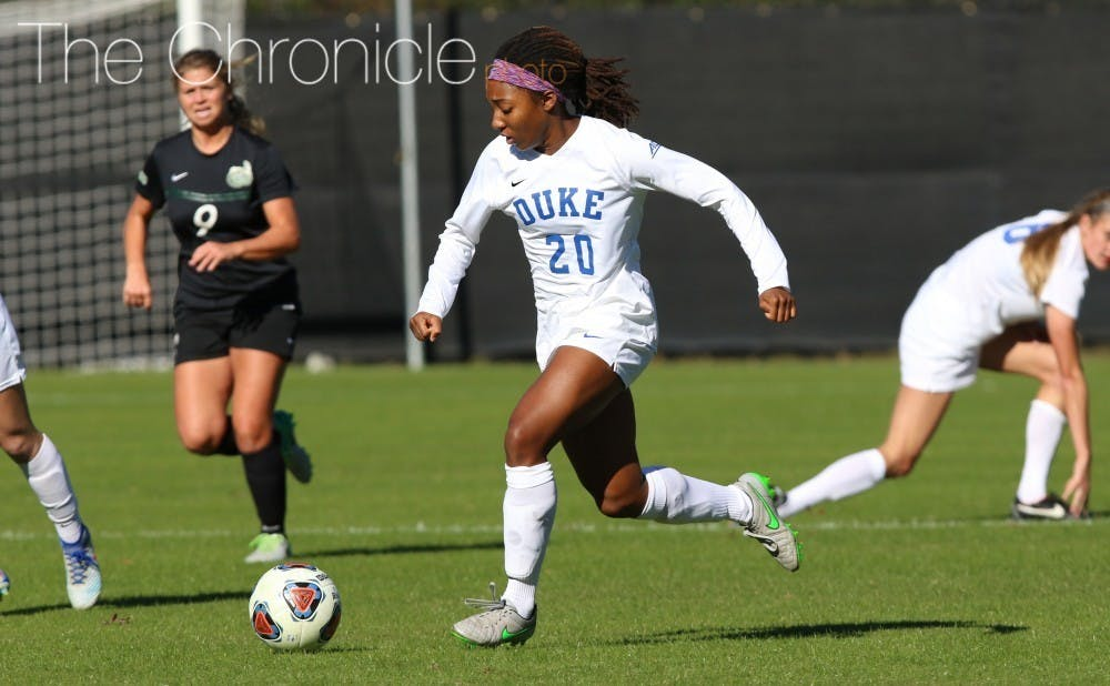Redshirt senior Mia Gyau looks to return to form after suffering three consecutive season-ending injuries over the last three years.