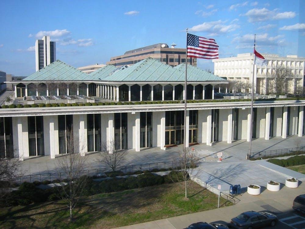 <p>The North Carolina State Legislative Building</p>