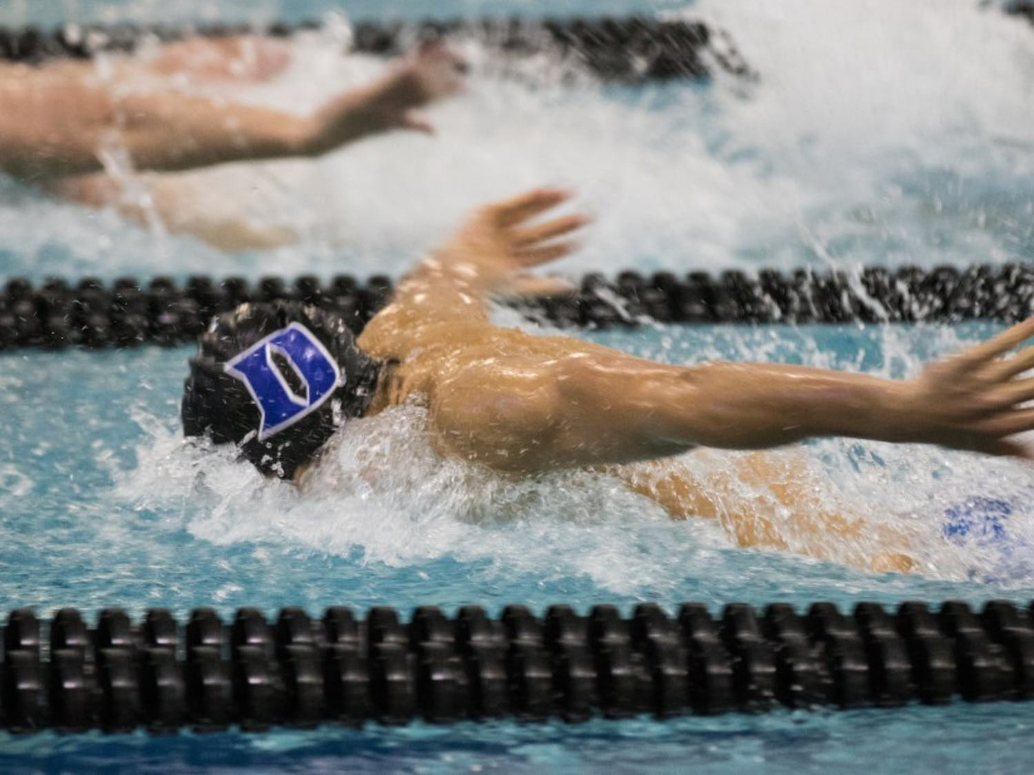 The Blue Devils set eight school records and finished in the middle of the pack at the ACC championships.