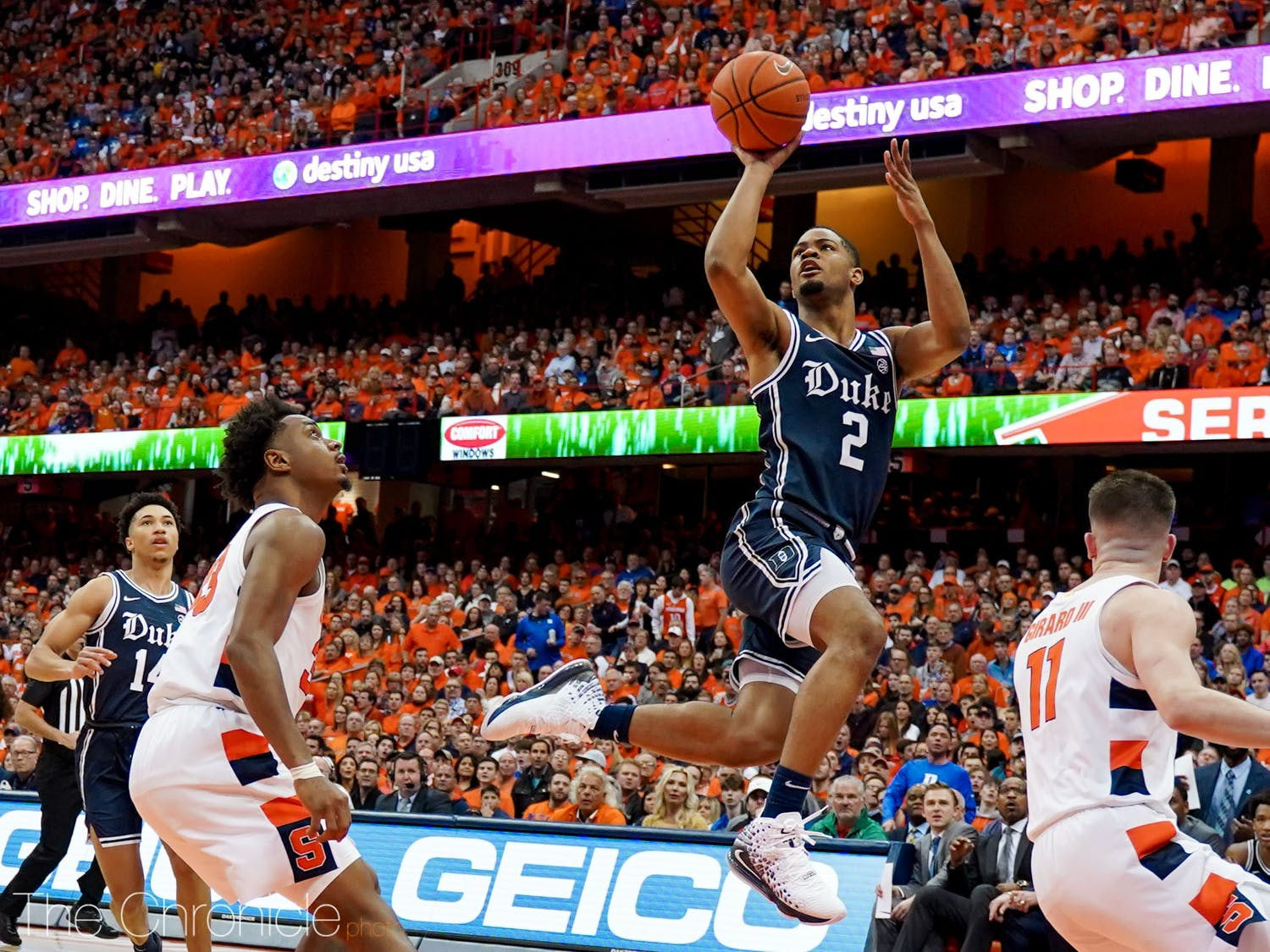 Cassius Stanley and the Blue Devils are looking for their fourth straight victory.
