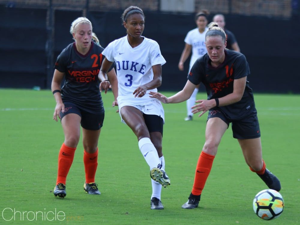 Imani Dorsey posted a 74.4 percent passing rate in her rookie season with the Sky Blue FC.