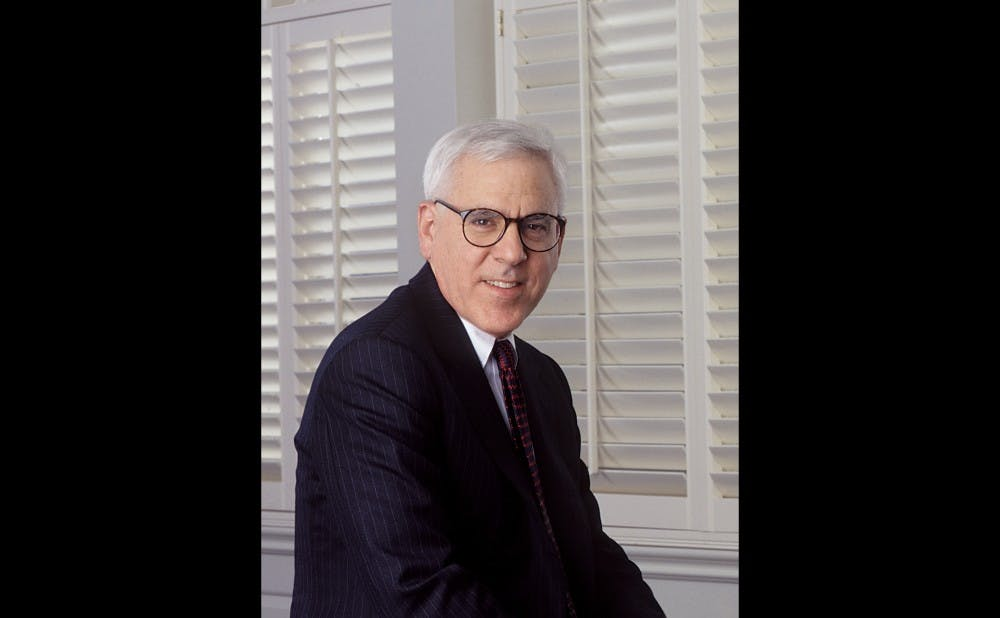 <p>David Rubenstein is the co-founder of The Carlyle Group, an investment company,&nbsp;and has served as the chair of&nbsp;Duke's Board of Trustees&nbsp;since 2013.&nbsp;</p>
