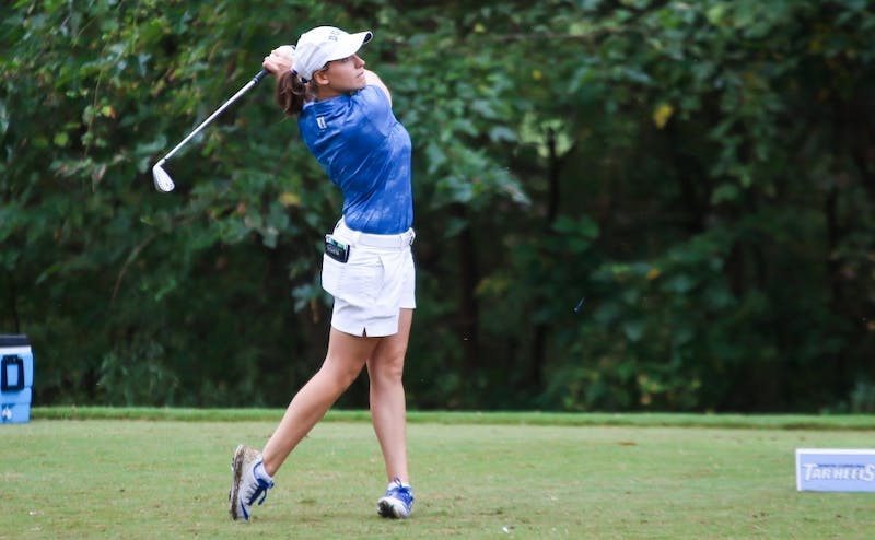 Virginia Elena Carta secured points for Duke against Stanford and Arizona, helping the Blue Devils to the finals.