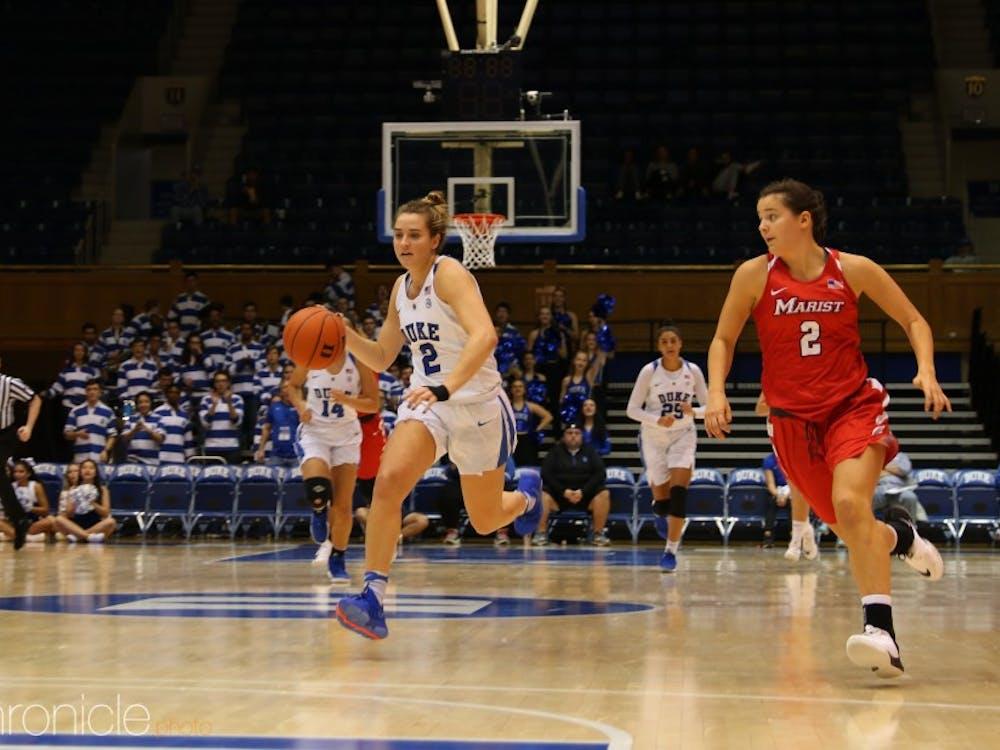 Haley Gorecki struggled from the field Sunday.