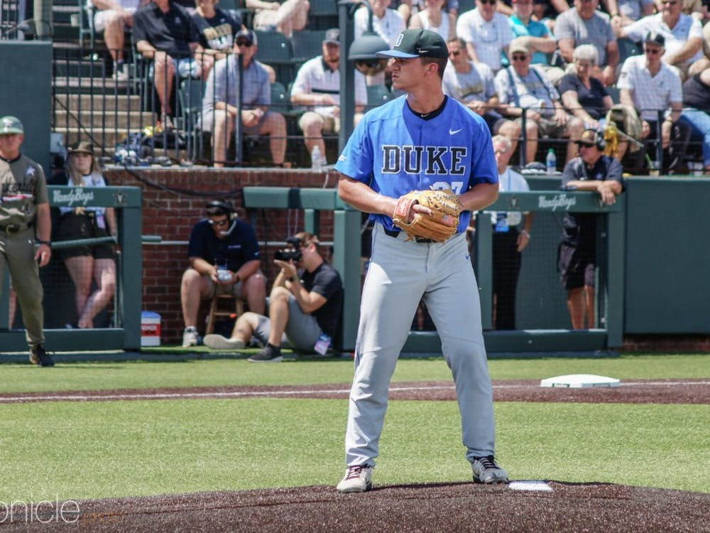 Bill Chillari struggled mightily in his start Sunday, allowing five runs and failing to get out of the second inning.