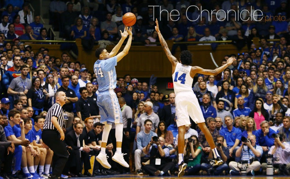<p>Junior Justin Jackson has taken a big leap for North Carolina, averaging 18.6 points per game and shooting almost 40 percent from the field.&nbsp;</p>
