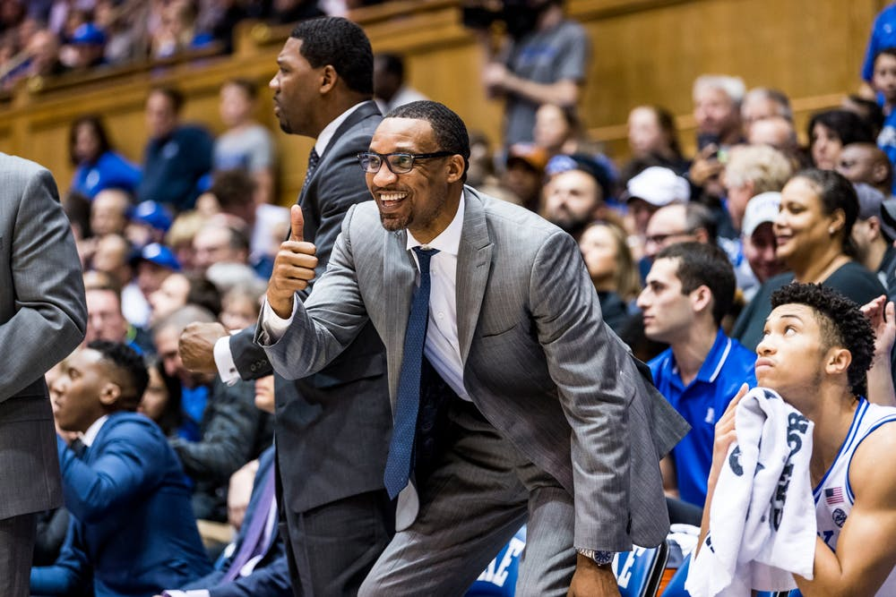 Chris Carrawell was promoted to associate head coach Tuesday evening.