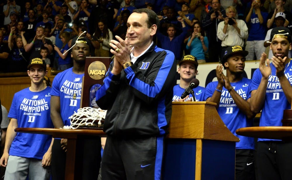 Krzyzewski adapted frequently en route to five national titles.