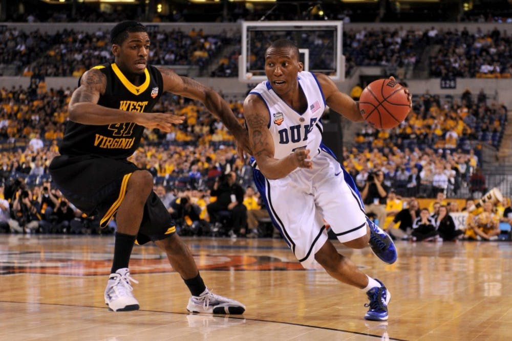 Former Duke guard Nolan Smith will start his coaching career on the Blue Devil bench as a special assistant, effective immediately, the program announced Monday.