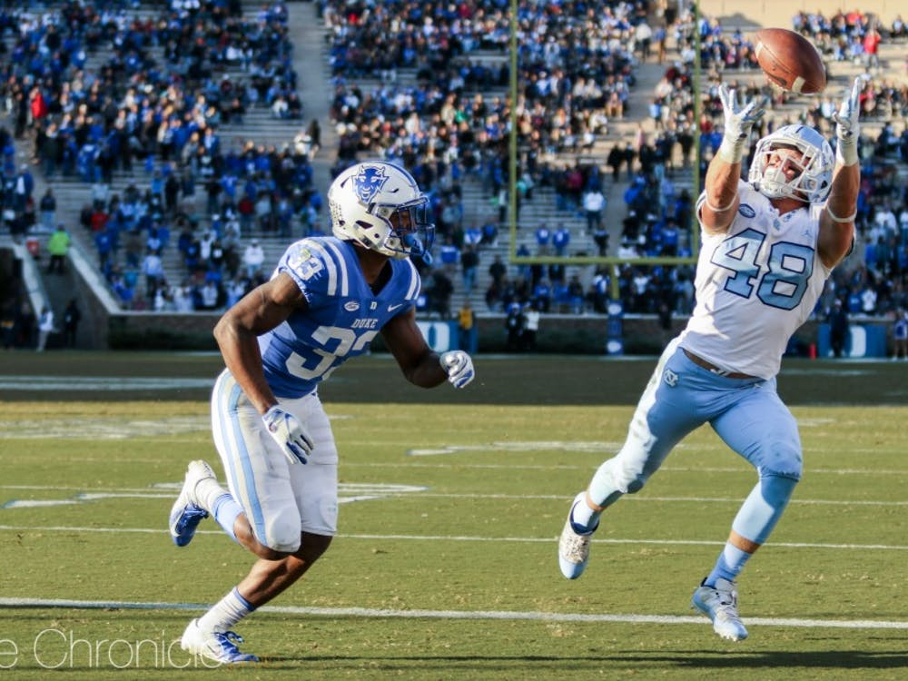 The Blue Devils held North Carolina to just seven second-half points Saturday.