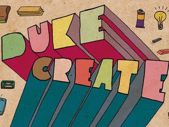 The DukeCreate program began in the Arts Annex in 2015.