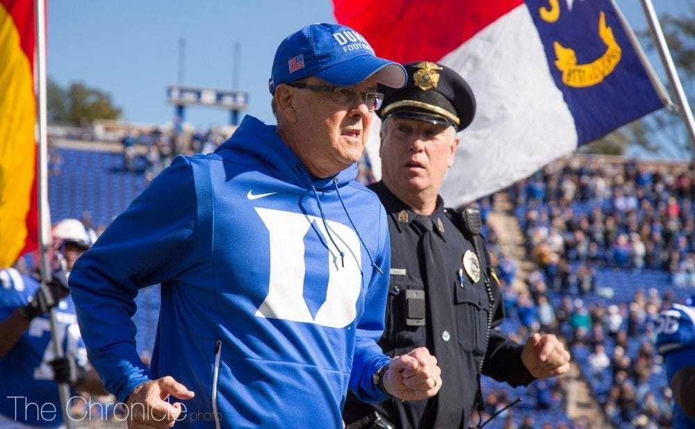 Head coach David Cutcliffe will face arguably his toughest schedule yet in his 12th season at Duke.