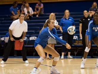 Gracie Johnson started off slow with an error-filled first two sets.