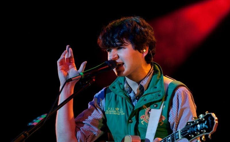 "Vampire Weekend made its much-anticipated return May 3 with the sprawling ""Father of the Bride."""