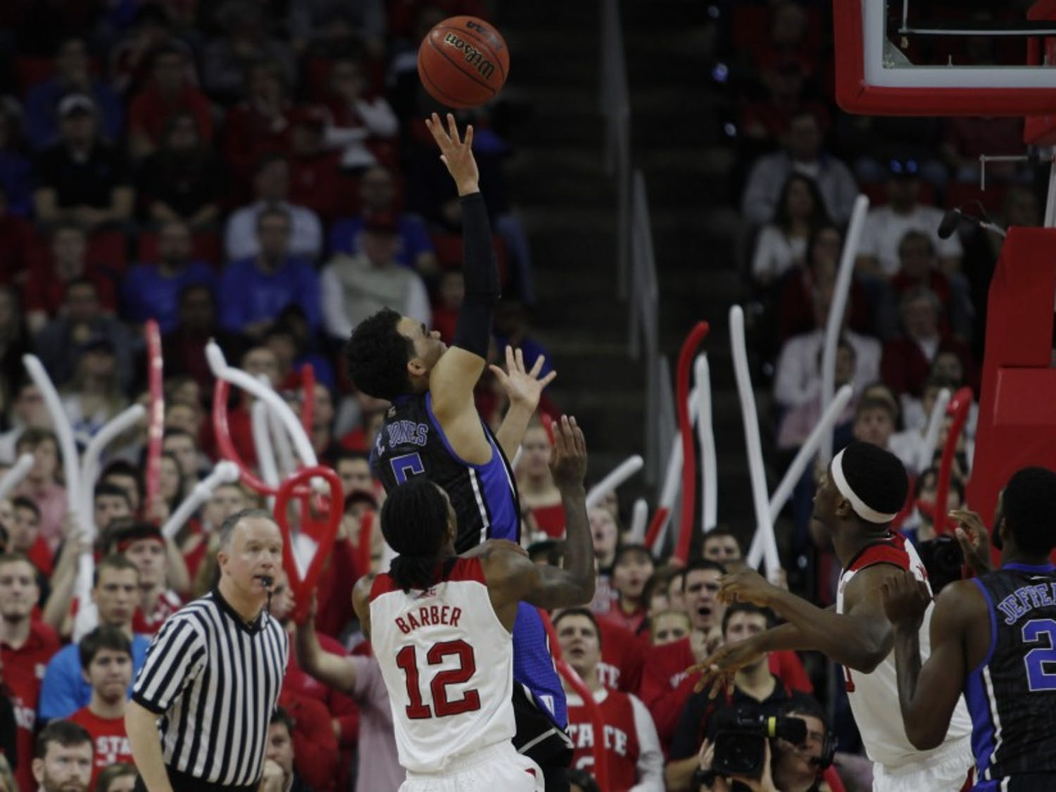 Freshman Tyus Jones was held to four points on 1-of-6 shooting against N.C. State and will look to hit double-digits for the first time in 2015 against Miami.